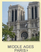 history walks paris, middle ages Paris